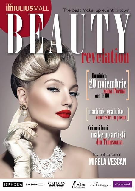 """Beauty Revelation"" cu Mirela Vescan la Iulius Mall!"