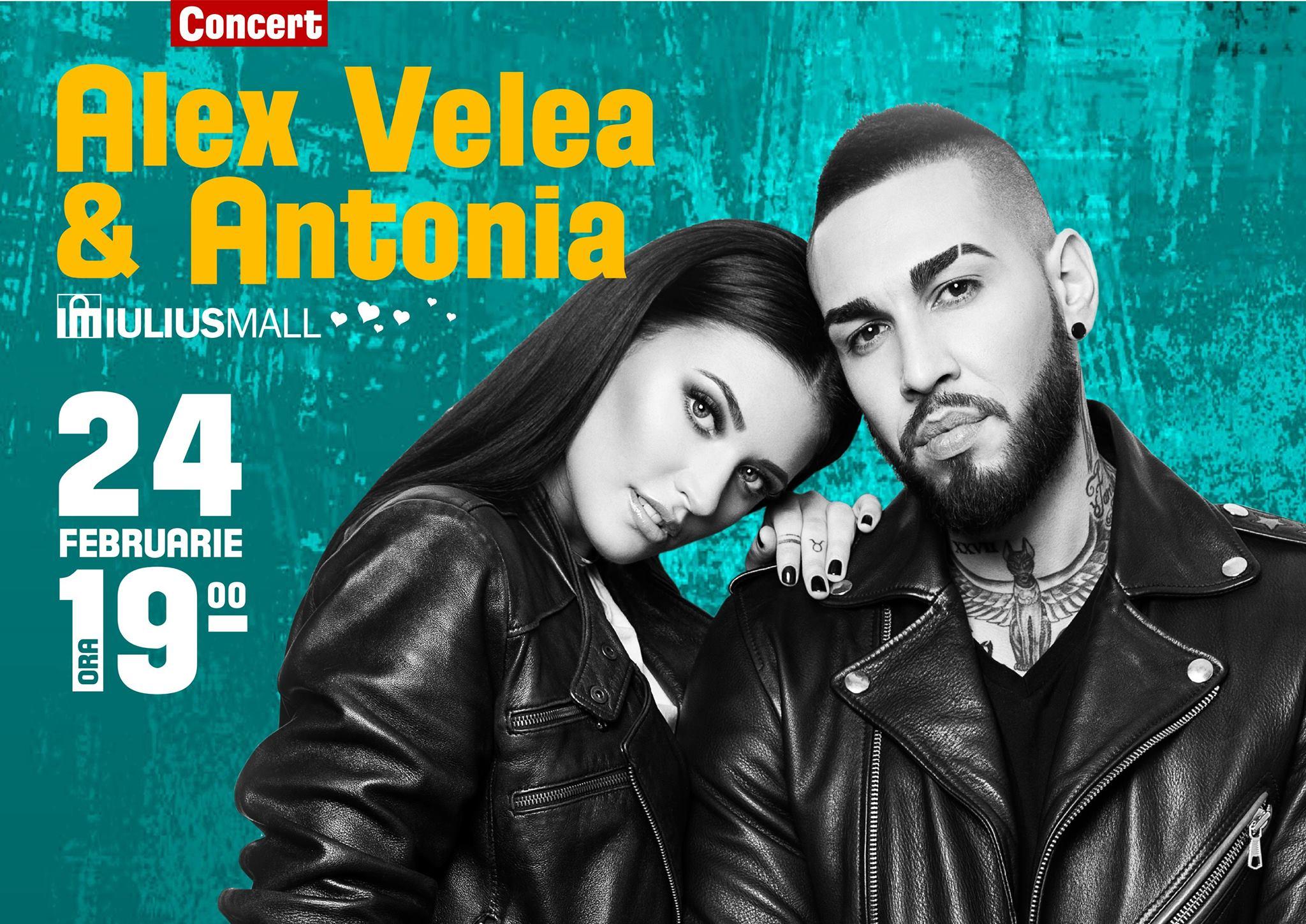 Concert Antonia și Alex Velea de Dragobete!