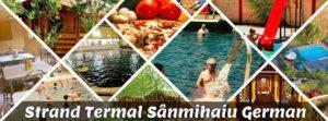 Ștrandul termal Sânmihaiu German – adevărată oază de relaxare