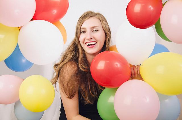 Petrecere aniversara cu baloane dinabundenta