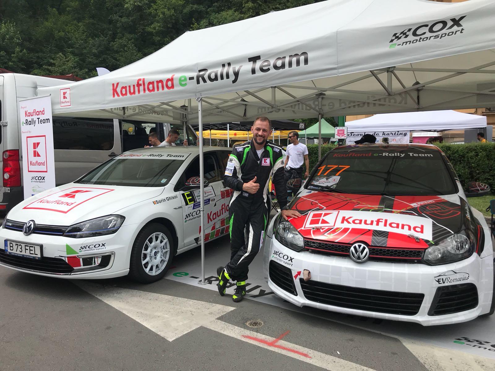 Kaufland e-Rally Team – prima mașină electrică preparată pentru curse