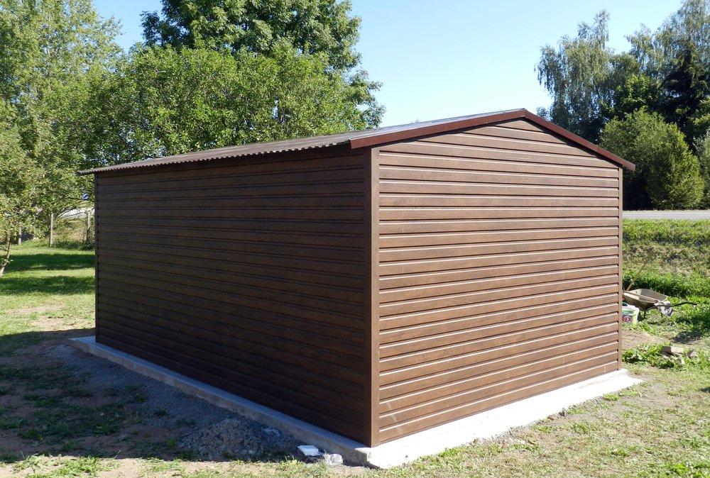 Garajele de tablă – o soluție ieftină și modernă