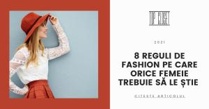 topcloset.ro - 8 reguli de fashion