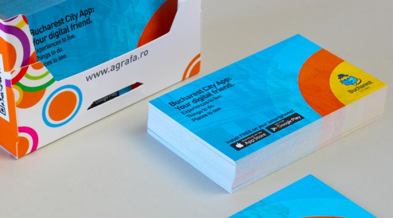 carti de vizita metalice de la agrafa print
